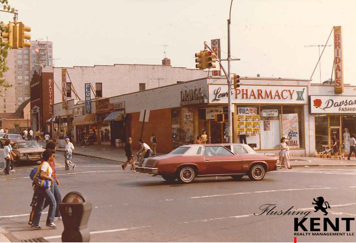 INTERSECTION OF ROOSEVELT & UNION STREET '81