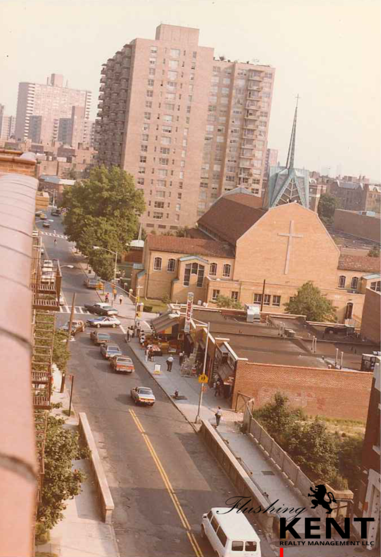 BIRDSEYE VIEW OF UNION STREET '81